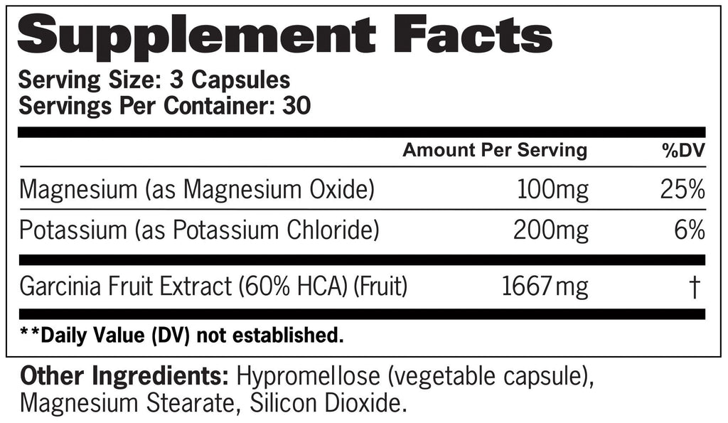 GAT Garcinia 90caps - AdvantageSupplements.com