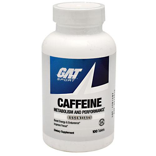GAT Caffeine 100tabs - AdvantageSupplements.com