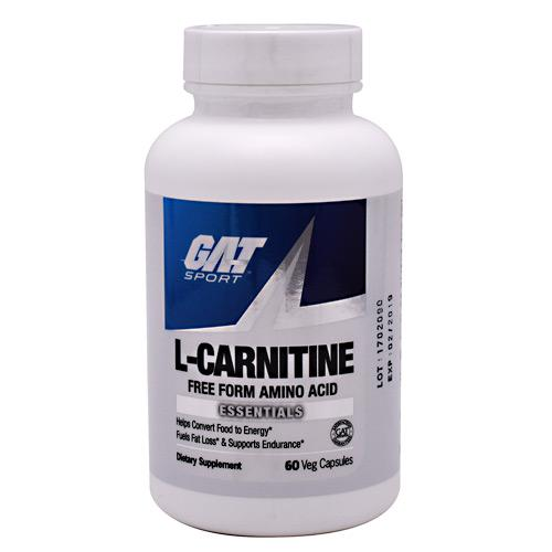 GAT L-Carnitine 60caps - AdvantageSupplements.com