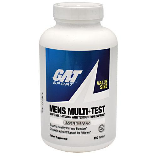 GAT Men's Multi + Test 150tabs - AdvantageSupplements.com