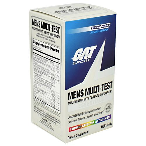 GAT Mens Multi + Test 60tabs - AdvantageSupplements.com