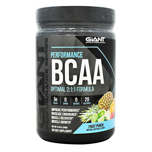 GIant Sports Performance Series Performance BCAA 30 servings - AdvantageSupplements.com