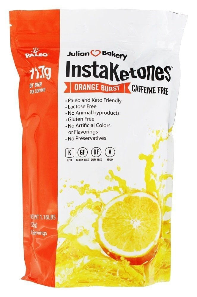 Julian Bakery InstaKetones (Caffeine Free) 30 servings - AdvantageSupplements.com