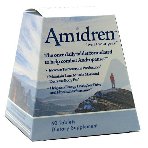 MHP Amidren Andro-T 60tabs - AdvantageSupplements.com