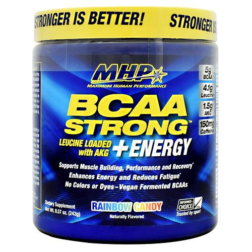 MHP BCAA Strong +Energy 30 servings