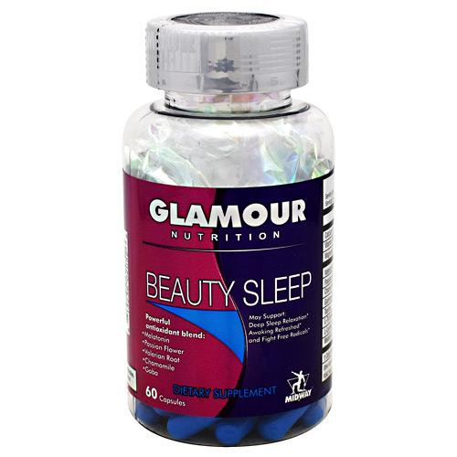 MidWay Labs Glamour Nutrition Beauty Sleep 60caps