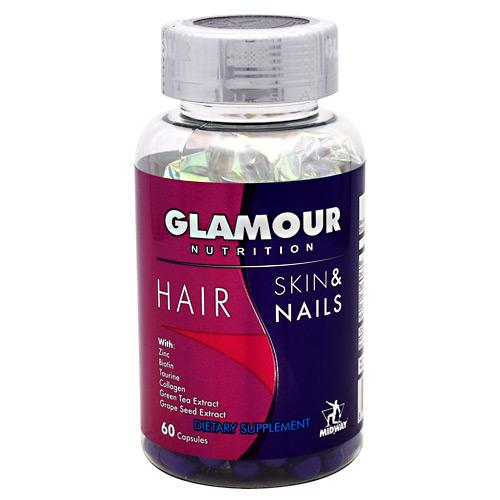 MidWay Labs Glamour Nutrition Hair Skin & Nails 60caps - AdvantageSupplements.com