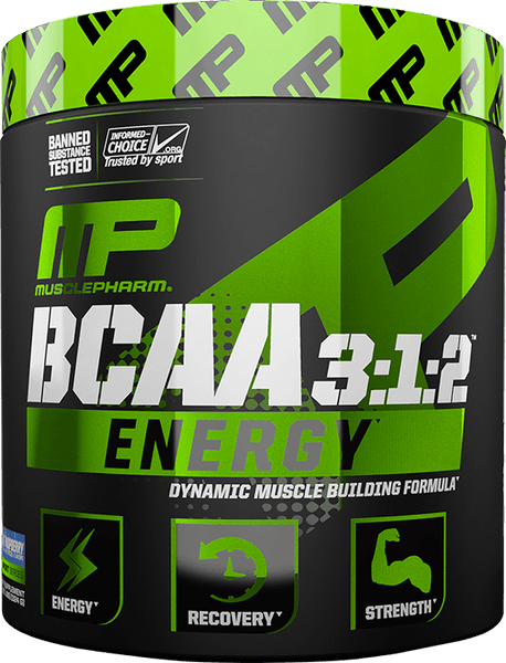 MusclePharm BCAA Energy 3:1:2 (30 servings) - AdvantageSupplements.com