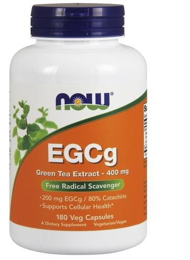 NOW Foods EGCg Green Tea Extract 180 Veggie Caps