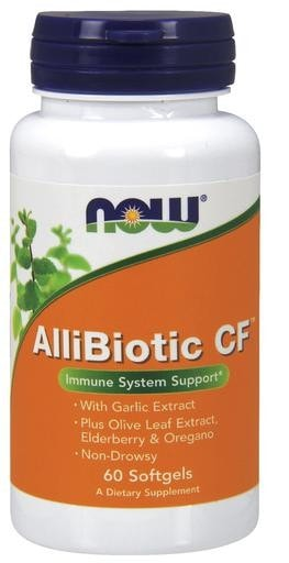 NOW Foods AlliBiotic CF 60 Softgels - AdvantageSupplements.com