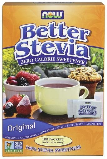 NOW Foods Better Stevia 100 Packets - AdvantageSupplements.com