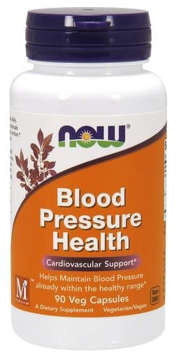 NOW Foods Blood Pressure Health 90 Veggie Caps - AdvantageSupplements.com