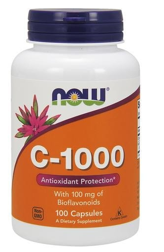 NOW Foods C-1000 Vitamin C 100caps