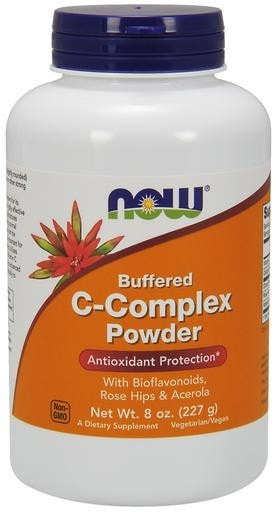 NOW Foods C-Complex Powder 8oz - AdvantageSupplements.com