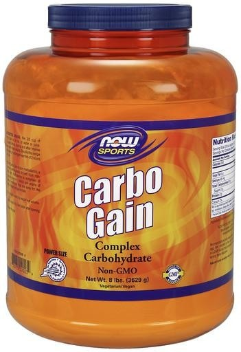 NOW Foods Carbo Gain 100% Complex Carbohydrate 8lbs - AdvantageSupplements.com