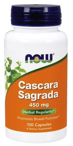 NOW Foods Cascara Sagrada 450mg 100caps - AdvantageSupplements.com