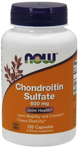 NOW Foods Chondroitin Sulfate 600mg 120caps - AdvantageSupplements.com