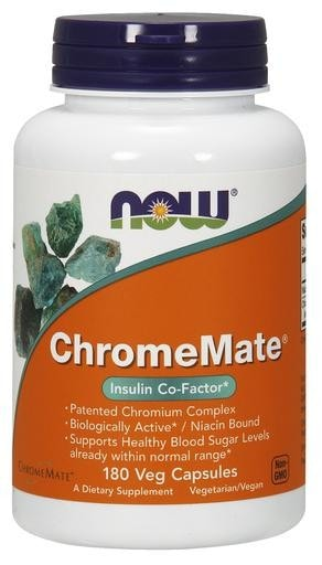 NOW Foods ChromeMate 180caps - AdvantageSupplements.com