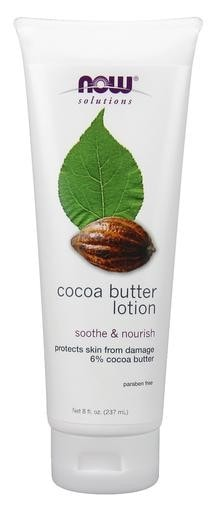 NOW Foods Cocoa Butter Lotion 8oz - AdvantageSupplements.com