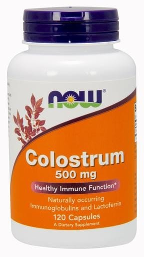 NOW Foods Colostrum 500mg 120caps - AdvantageSupplements.com