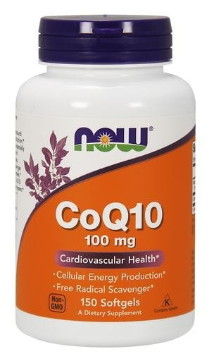NOW Foods CoQ10 100mg 150softgels - AdvantageSupplements.com