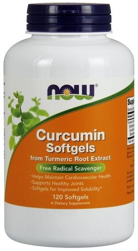 NOW Foods Curcumin 450mg 120 softgels - AdvantageSupplements.com