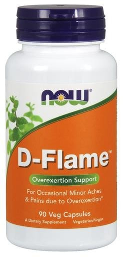NOW Foods D-Flame 90 Veggie Caps - AdvantageSupplements.com