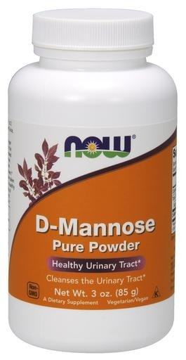 NOW Foods D-Mannose Pure Powder 3oz - AdvantageSupplements.com