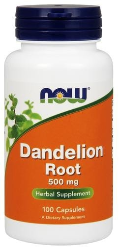 NOW Foods Dandelion Root 500mg 100caps - AdvantageSupplements.com