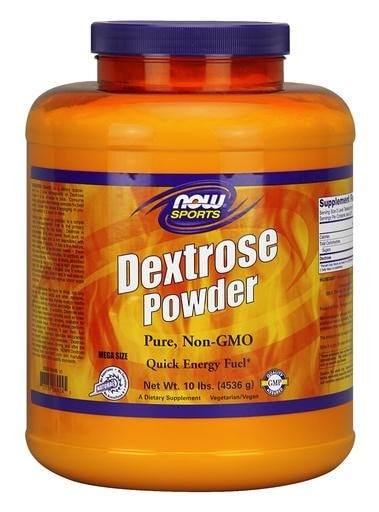 NOW Foods Dextrose Powder 10lbs - AdvantageSupplements.com