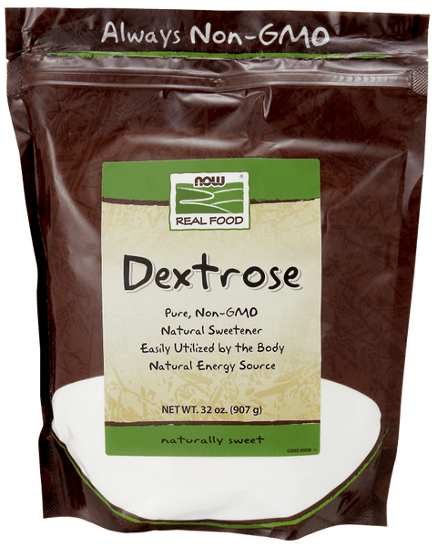 NOW Foods Dextrose Powder 32oz - AdvantageSupplements.com