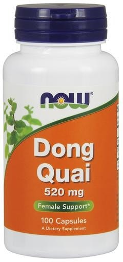 NOW Foods Dong Quai 520mg 100caps - AdvantageSupplements.com