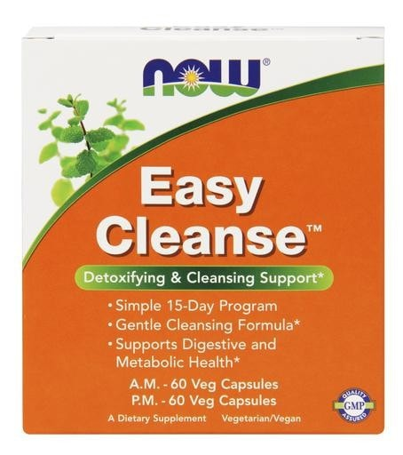 NOW Foods Easy Cleanse Kit 15 Day Program - AdvantageSupplements.com