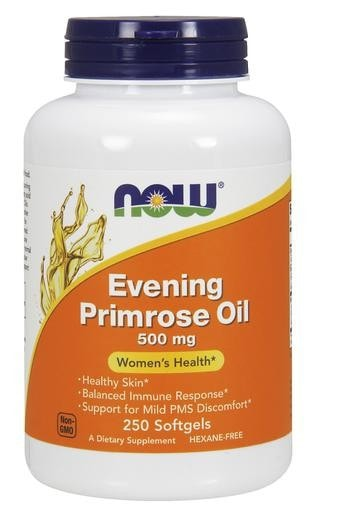 NOW Foods Evening Primrose Oil 500mg 250softgels - AdvantageSupplements.com