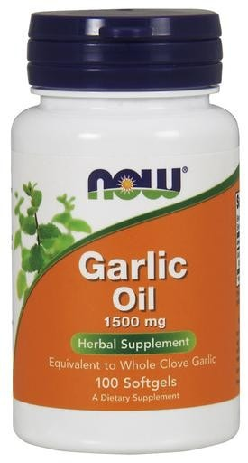 NOW Foods Garlic Oil 1500mg 100softgels