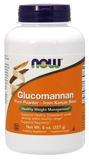 NOW Foods Glucomannan Pure Powder 8oz - AdvantageSupplements.com