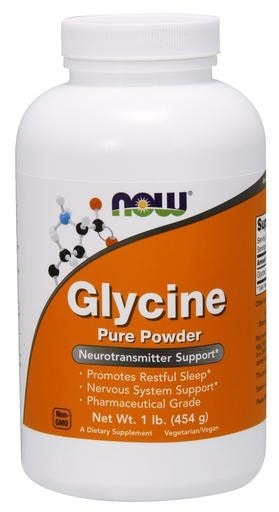 NOW Foods Glycine Pure Powder 1lb - AdvantageSupplements.com