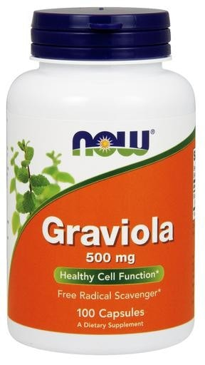 NOW Foods Graviola 500mg 100caps - AdvantageSupplements.com