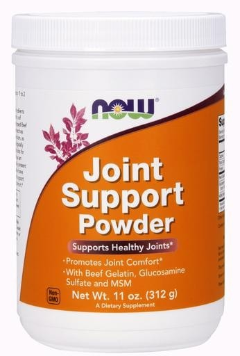 NOW Foods Joint Support Powder 11oz (312 gm) - AdvantageSupplements.com