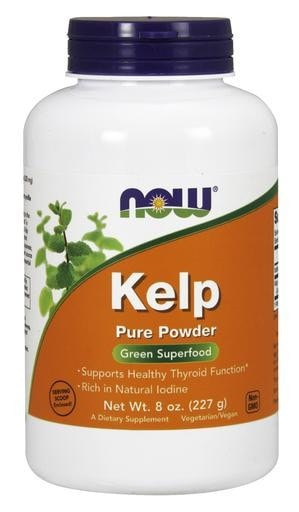 NOW Foods Kelp Powder 8oz - AdvantageSupplements.com
