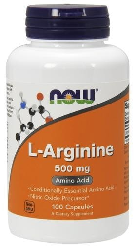 NOW Foods L-Arginine 500mg 100caps - AdvantageSupplements.com