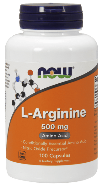 NOW Foods L-Arginine 500mg 250caps