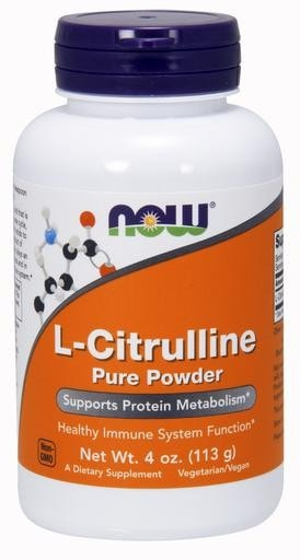 NOW Foods L-Citrulline Powder 4oz