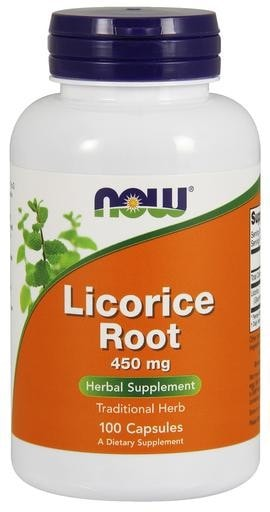 NOW Foods Licorice Root 450mg 100caps