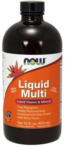 NOW Foods Liquid Multi 16 fl. oz. (473mL) - AdvantageSupplements.com