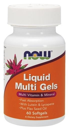 NOW Foods Liquid Multi Gels 60softgels - AdvantageSupplements.com