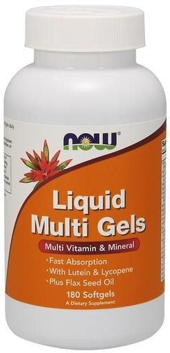 NOW Foods Liquid Multi Gels 180softgels - AdvantageSupplements.com