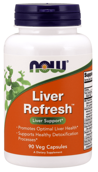NOW Foods Liver Refresh 90caps - AdvantageSupplements.com