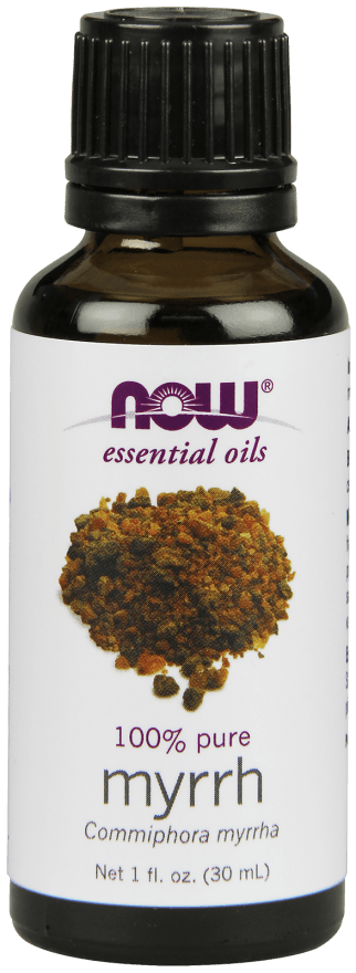 NOW Foods Essential Oils Myrrh Oil 1 fl. oz. - AdvantageSupplements.com