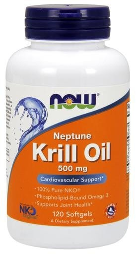 NOW Foods Neptune Krill Oil 500mg 120softgels - AdvantageSupplements.com